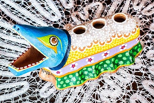 Detalhe de artesanato em cerâmica no Ribeirão da Ilha  - Florianópolis - Santa Catarina (SC) - Brasil