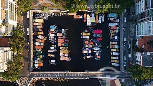 Foto feita com drone da píer do Quadrado da Urca  - Rio de Janeiro - Rio de Janeiro (RJ) - Brasil