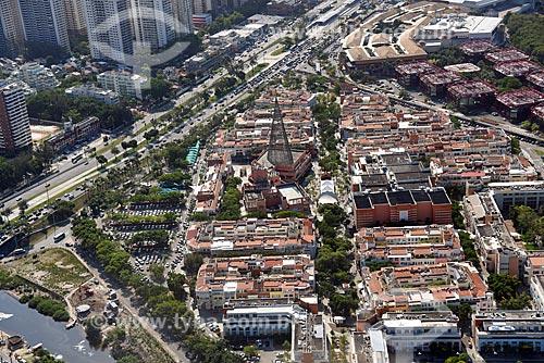 Foto aérea do Shopping Downtown  - Rio de Janeiro - Rio de Janeiro (RJ) - Brasil
