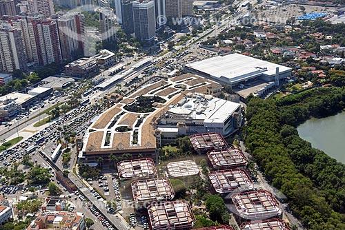 Foto aérea do Shopping Cittá América  - Rio de Janeiro - Rio de Janeiro (RJ) - Brasil