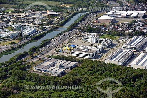 Foto aérea do Shopping Uptown  - Rio de Janeiro - Rio de Janeiro (RJ) - Brasil