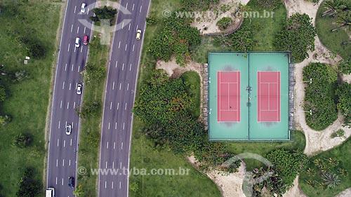 Foto feita com drone da Avenida Infante Dom Henrique no Aterro do Flamengo  - Rio de Janeiro - Rio de Janeiro (RJ) - Brasil