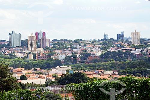 Vista geral da cidade de Sumaré  - Sumaré - São Paulo (SP) - Brasil