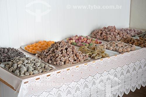 Doces de frutas cristalizadas  - Goiás - Goiás (GO) - Brasil