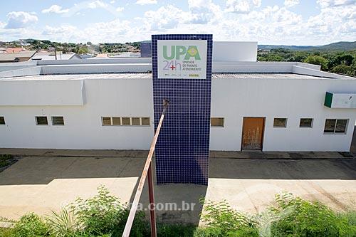 Fachada da Unidade de Pronto Atendimento (UPA) na Rua Santos Dumont  - Goiás - Goiás (GO) - Brasil
