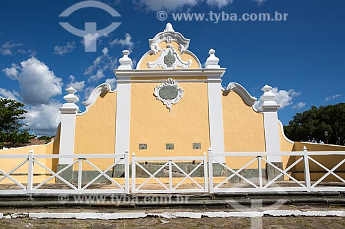 Chafariz de Calda (1778) na Praça Doutor Brasil Caiado - também conhecida como Praça do Chafariz  - Goiás - Goiás (GO) - Brasil