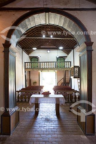 Interior da Capela de São João Batista (1761)  - Goiás - Goiás (GO) - Brasil