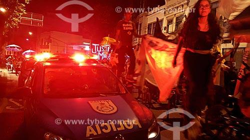 Manifestação pelo assassinato da Vereadora Marielle Franco  - Rio de Janeiro - Rio de Janeiro (RJ) - Brasil