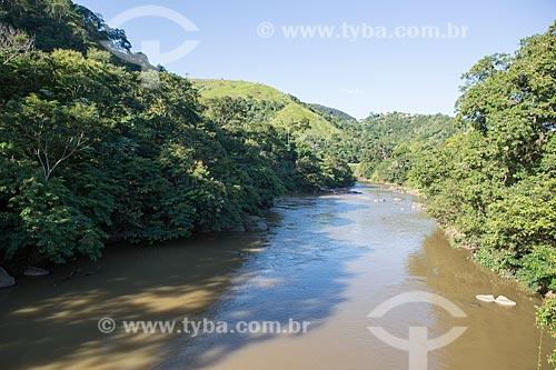Trecho do Rio Piabanha no distrito de Alberto Torres  - Areal - Rio de Janeiro (RJ) - Brasil