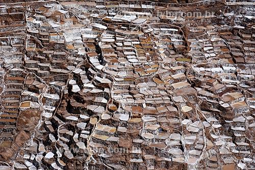 Vista geral da Salina de Maras  - Maras - Província de Urubamba - Peru
