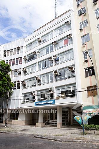 Fachada do Edifício Armando Queiroz - antiga sede do Sistema Globo de Rádio  - Rio de Janeiro - Rio de Janeiro (RJ) - Brasil