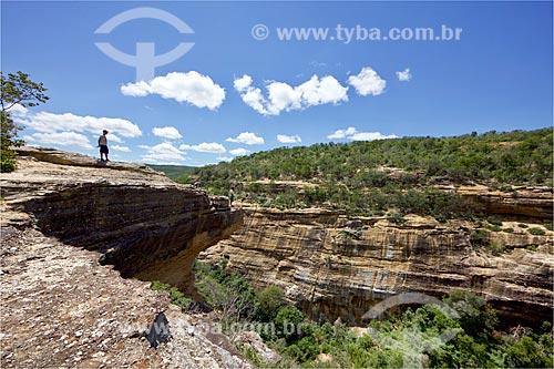 Sítio Arqueológico Toca da Entrada do Baixão da Vaca no Parque Nacional Serra da Capivara  - Coronel José Dias - Piauí (PI) - Brasil