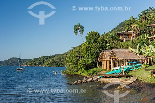 Bangalôs de resort na orla do Saco do Mamanguá  - Paraty - Rio de Janeiro (RJ) - Brasil