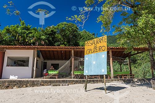 Restaurante do Cruzeiro na orla da Praia do Cruzeiro  - Paraty - Rio de Janeiro (RJ) - Brasil