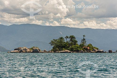 Vista da Ilha do Catimbau na Baía de Ilha Grande  - Paraty - Rio de Janeiro (RJ) - Brasil
