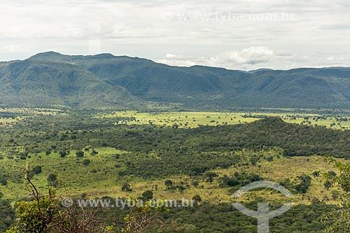 Vista a partir do Mirante da Nova Aurora  - Cavalcante - Goiás (GO) - Brasil