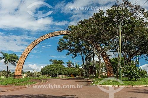 Portal da cidade de Alto Paraíso de Goiás  - Alto Paraíso de Goiás - Goiás (GO) - Brasil