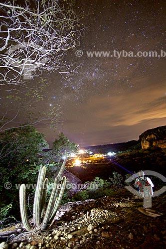 Vista geral da comunidade Sítio do Mocó no Parque Nacional Serra da Capivara  - Coronel José Dias - Piauí (PI) - Brasil