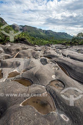 Vista geral do Vale da Lua  - Alto Paraíso de Goiás - Goiás (GO) - Brasil