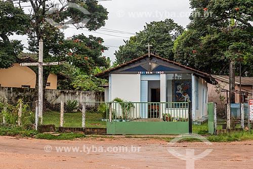 Fachada da Igreja de São Jorge  - Alto Paraíso de Goiás - Goiás (GO) - Brasil