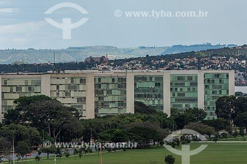 Vista do Esplanada dos Ministérios  - Brasília - Distrito Federal (DF) - Brasil