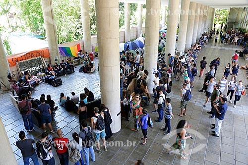 Evento do coletivo Bastardo da Pontifícia Universidade Católica  - Rio de Janeiro - Rio de Janeiro (RJ) - Brasil