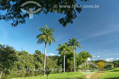 Vista do Jardim Zoológico de Goiânia  - Goiânia - Goiás (GO) - Brasil