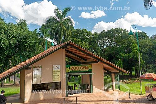 Entrada do Jardim Zoológico de Goiânia  - Goiânia - Goiás (GO) - Brasil