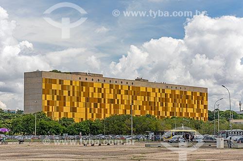 Vista do anexo II da Câmara dos Deputados  - Brasília - Distrito Federal (DF) - Brasil