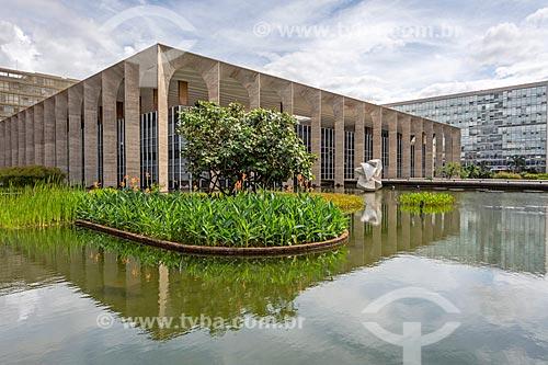 Fachada de Palácio do Itamaraty  - Brasília - Distrito Federal (DF) - Brasil