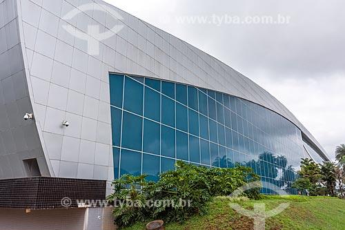 Fachada do Centro de Convenções Ulysses Guimarães (1979)  - Brasília - Distrito Federal (DF) - Brasil