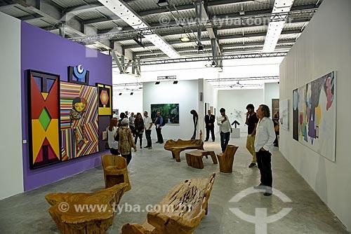 Interior do pavilhão do ArtRio 2017  - Rio de Janeiro - Rio de Janeiro (RJ) - Brasil