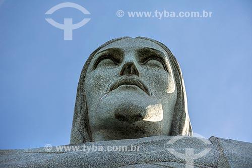 Detalhe do Cristo Redentor  - Rio de Janeiro - Rio de Janeiro (RJ) - Brasil