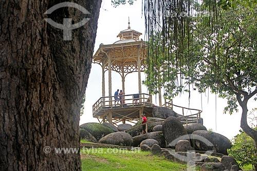 Vista de coreto no Parque da Quinta da Boa Vista  - Rio de Janeiro - Rio de Janeiro (RJ) - Brasil
