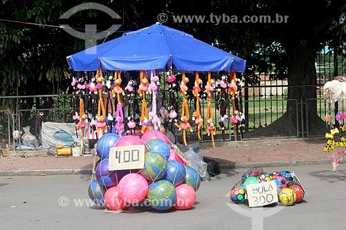 Brinquedos à venda no Parque da Quinta da Boa Vista  - Rio de Janeiro - Rio de Janeiro (RJ) - Brasil