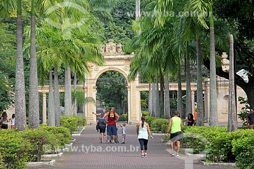 Entrada do Jardim Zoológico do Rio de Janeiro  - Rio de Janeiro - Rio de Janeiro (RJ) - Brasil