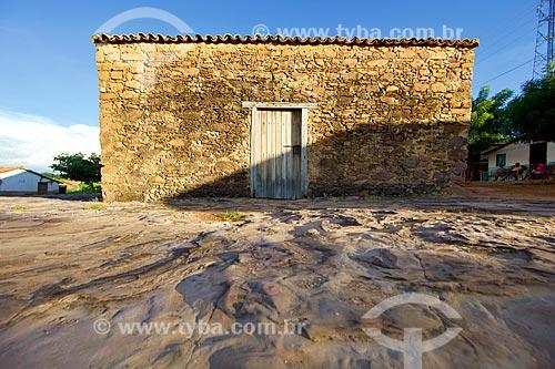 Fachada da Casa da Pólvora de Oeiras (século XIX)  - Oeiras - Piauí (PI) - Brasil