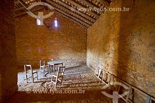 Interior da Casa da Pólvora de Oeiras (século XIX)  - Oeiras - Piauí (PI) - Brasil