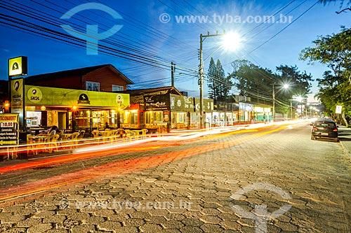 Tráfego na Avenida das Rendeiras  - Florianópolis - Santa Catarina (SC) - Brasil