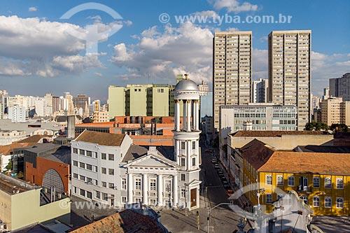 Foto feita com drone da Igreja Presbiteriana Independente de Curitiba  - Curitiba - Paraná (PR) - Brasil