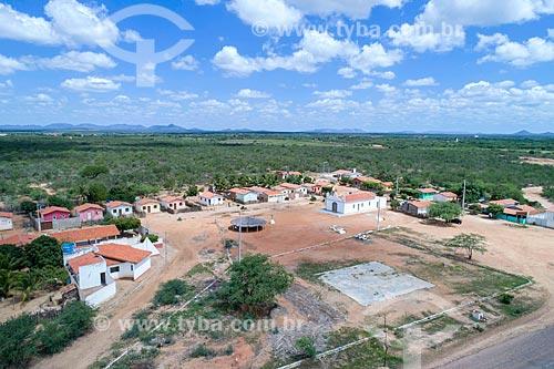 Foto feita com drone da Comunidade Vila Nova na Terra indígena Truká - ACRÉSCIMO DE 100% SOBRE O VALOR DE TABELA  - Cabrobó - Pernambuco (PE) - Brasil