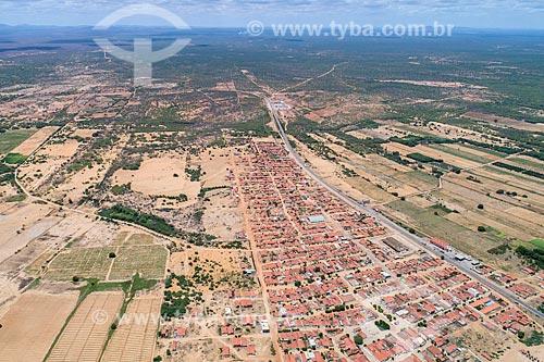 Foto feita com drone do distrito de Ibo  - Abaré - Bahia (BA) - Brasil