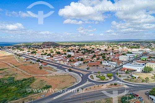Foto feita com drone da cidade de Petrolândia  - Petrolândia - Pernambuco (PE) - Brasil
