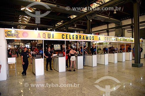 Entrada do Mondial de la Bière - festival internacional de cervejas - em Armazém do Cais da Gamboa  - Rio de Janeiro - Rio de Janeiro (RJ) - Brasil