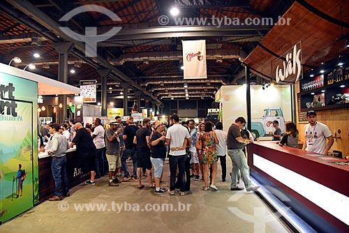 Mondial de la Bière - festival internacional de cervejas - em Armazém do Cais da Gamboa  - Rio de Janeiro - Rio de Janeiro (RJ) - Brasil
