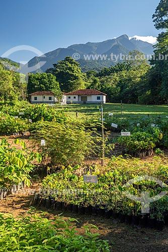 Vista geral de viveiro na Reserva Ecológica de Guapiaçu  - Cachoeiras de Macacu - Rio de Janeiro (RJ) - Brasil