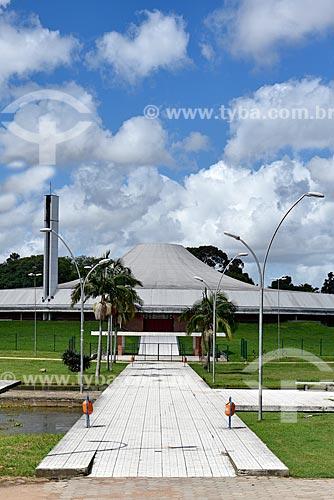 Vista do Auditório Araújo Vianna no Parque Farroupilha - também conhecido como Parque da Redenção  - Porto Alegre - Rio Grande do Sul (RS) - Brasil