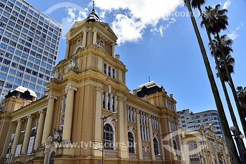 Fachada do Museu de Arte do Rio Grande do Sul Ado Malagoli (1913)  - Porto Alegre - Rio Grande do Sul (RS) - Brasil