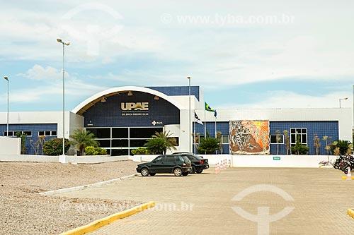 Fachada de Unidade Pernambucana de Assistência Especializada (UPAE)  - Salgueiro - Pernambuco (PE) - Brasil