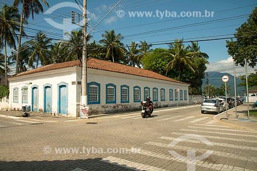 Fachada da Casa das Janelas (Século XVIII)  - São Sebastião - São Paulo (SP) - Brasil